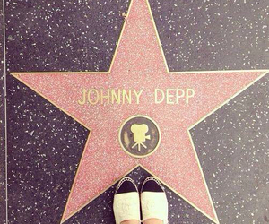 johnny depp, stars, and hollywood image