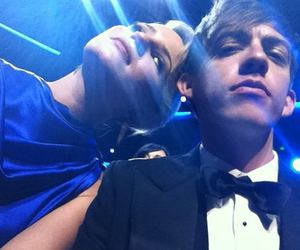 glee, emmy, and kevin mchale image