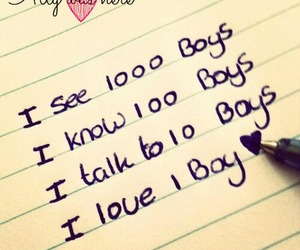 boy, quote, and love image