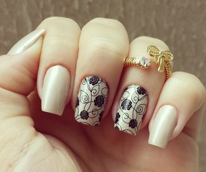 nails, fashion, and love image