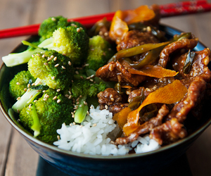 asian, delicious, and dinner image