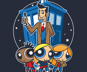 cartoon, doctor who, and rose tyler image