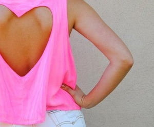 pink, fashion, and heart image