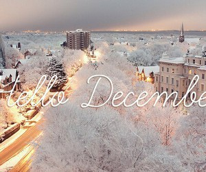 <3, december, and happy image