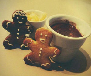 biscuits, christmas, and food image