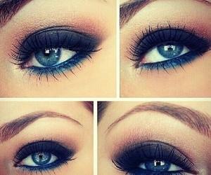 eyes, make up, and like image