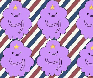 adventure time, lumpy space princess, and wallpeaper image