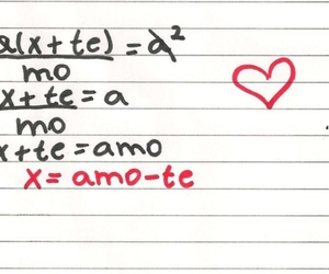 amor, love, and matematica image