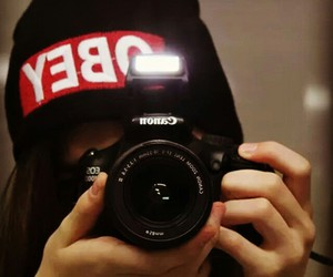 black, canon, and obey image