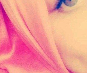 hijab, yeux, and style image