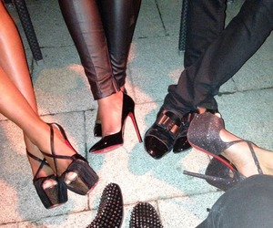 shoes, friends, and louboutin image