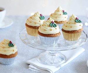 christmas, cupcakes, and sweet image