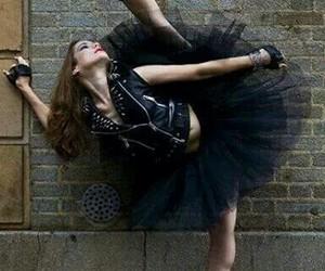 ballet, black, and dance image