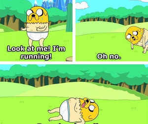 JAKe, adventure time, and funny image