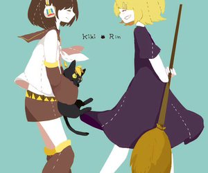 art, vocaloid, and rin image