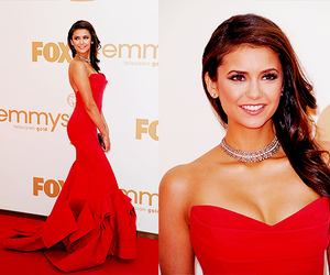 dress, red, and tvd image