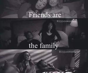 grey's anatomy and friends image