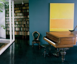 art, home, and books image