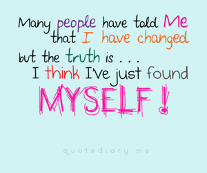 quote, me, and myself image