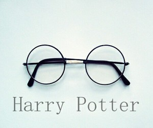 glasses, harry potter, and heroe image