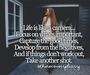 camera, focus, and life image