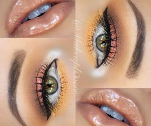 beauty, lips, and olhos image