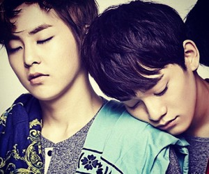 Chen, exo, and xiumin image