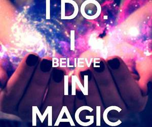 magic, believe, and keep calm image
