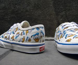 vans, disney, and donald duck image