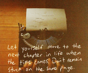 life, quote, and page image
