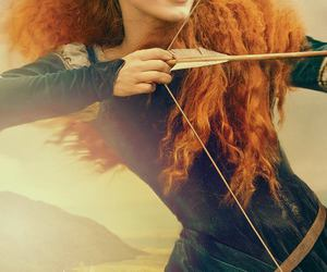 merida, brave, and once upon a time image