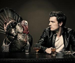 josh hutcherson, turkey, and snl image