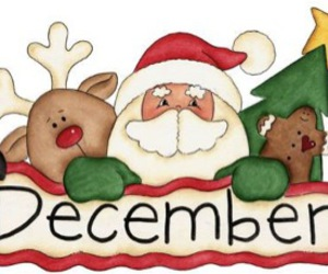 christmas, december, and santa image