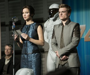 catching fire, peeta, and the hunger games image