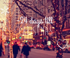 christmas, can't wait, and -24 image