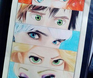eyes, disney, and jack frost image