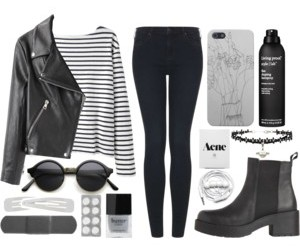 fashion, pale, and style image