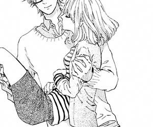 manga, monochrome, and cute image