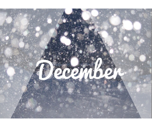 christmas, december, and snow image