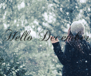 december, happy, and hello image
