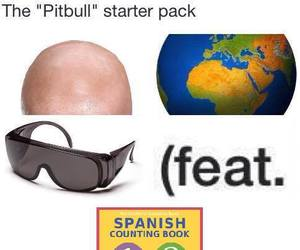 pitbull, funny, and pack image
