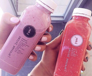 juice, smoothie, and drink image