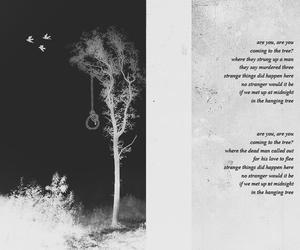 mockingjay, hanging tree, and Lyrics image