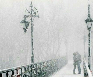 snow, love, and winter image