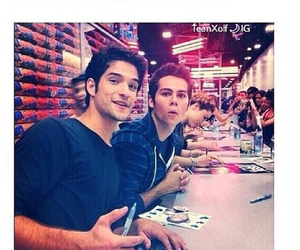 christmas, tyler posey, and dylan o'brien image