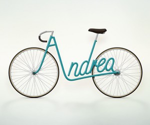 bike, andrea, and bicycle image