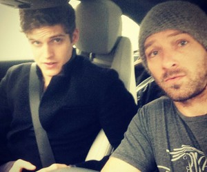 teen wolf, daniel sharman, and ian bohen image