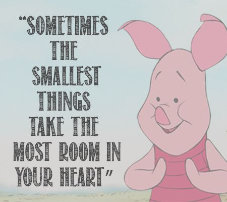 best friends, pigglet, and quotes image