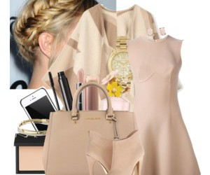 beige, Burberry, and gold image