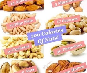 nuts and 100 calories image